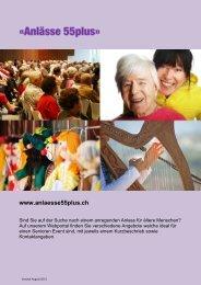 PDF-Broschüre anschauen. - Caritas Zürich