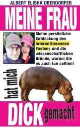 MEINE FRAU HAT MICH DICK GEMACHT - ALBERT ELISHA OBERDORFER GERMAN