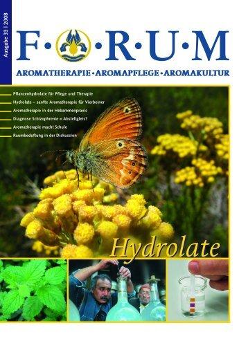 Hydrolate - Stadelmann Verlag