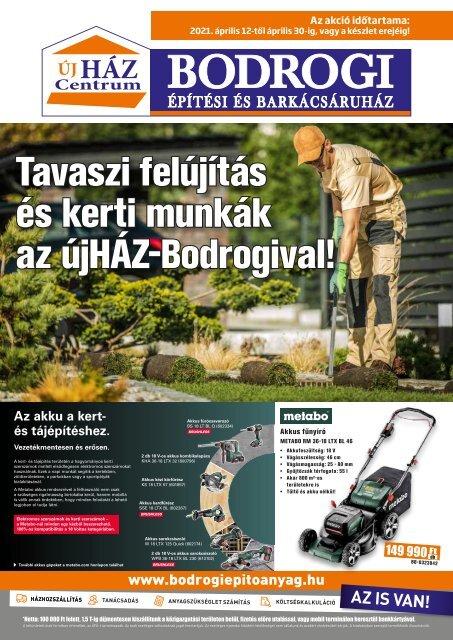 Bodrogi Bau_2021_aprilis
