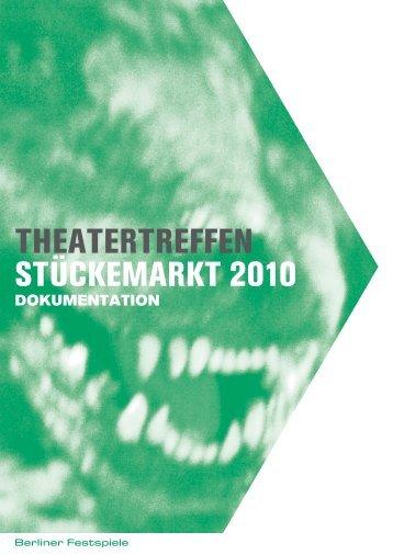 Dokumentation 2010 [PDF] - Berliner Festspiele