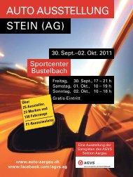 AUTO AUSSTELLUNG STEIN (AG) - Auto Aargau