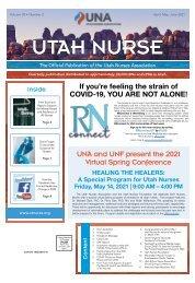 Utah Nurse - April 2021