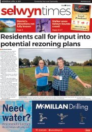 Selwyn Times: April 14, 2021