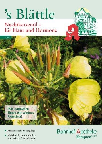 für Haut und Hormone - Stadelmann Verlag