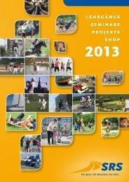 Jahresprogramm 2013 - SRSONLINE.DE: Startseite