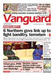 14042021 -6 Northern govs link up to fight banditry, terrorism