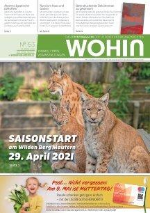 WOHIN Nr. 153 I April 2021