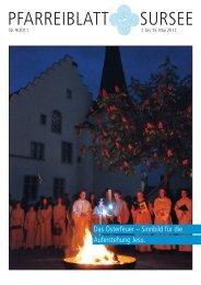 pfarreiblatt sursee - Katholische Kirchgemeinde und Pfarrei St ...