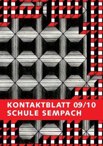 Kontaktblatt 2005 - Stadt Sempach