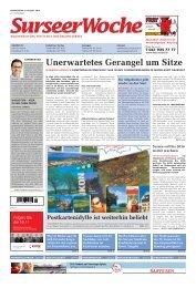 Ausgabe Surseer Woche 9. August 2012 - Neu auf www ...