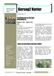 ZEITUNGSbericht - Schulen Emmen