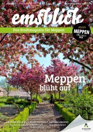 Emsblick Meppen - Heft 43 (April/Mai 2021)
