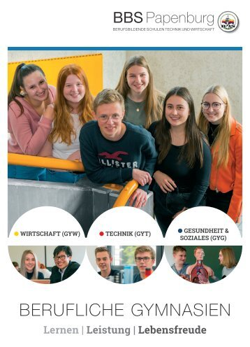 BBS Papenburg BERUFSBILDENDE SCHULEN TECHNIK UND WIRTSCHAFT 2021
