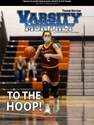 April 2021 Issue of Varsity Monthly Thumb Magazine