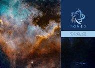 American Association of Variable Star Observers — Strategic Plan 2021