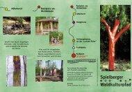 Flyer Waldkulturpfad.ps - Spielberger Waldkulturpfad