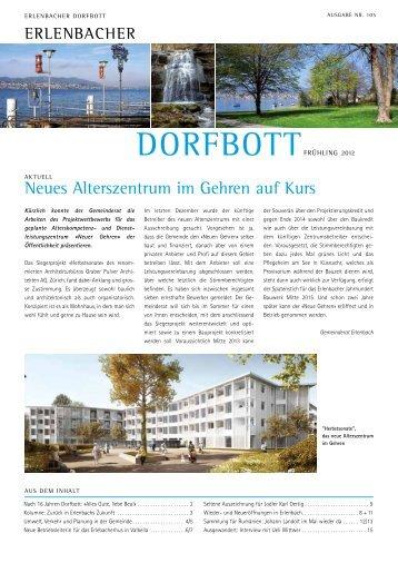Dorfbott Frühling 2012 (PDF, 835kB) - Gemeinde Erlenbach
