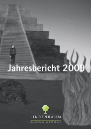 Jahresbericht 2009 - Lindenbaum