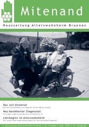 Heimzeitung September 2009_Druck - Brunnen