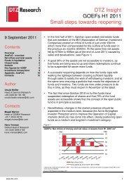 DTZ Insight - GOEFs - H1 2011 - Business Immo