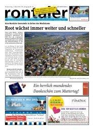 Rontal - Regionalzeitung Rontaler AG