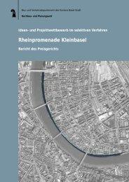 Jurybericht - Planungsamt - Basel-Stadt
