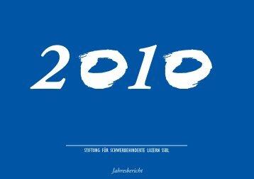 Jahresbericht 2010 - SSBL
