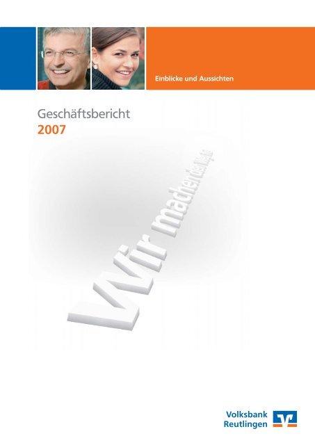 2007 - Volksbank Reutlingen