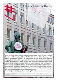 Das Schauspielhaus. - Kulturserver Hamburg