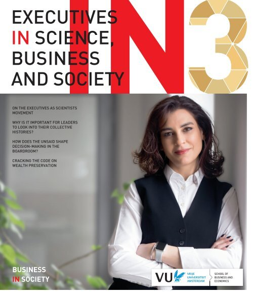 Executives in Science, Business and Society 3