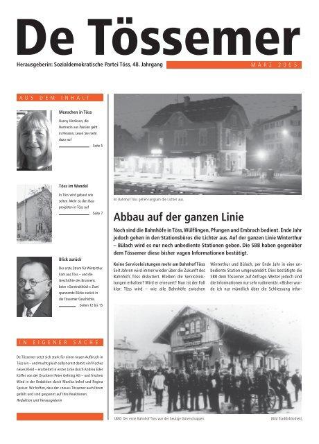 Geschftsbericht 2007 - Grosser Gemeinderat Winterthur