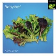 Brochure Babyleaf Australia 2021