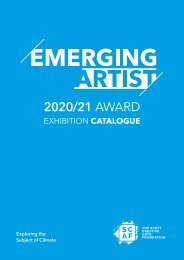 SCAF Emerging Artists 2020/21 Exhibition Catalogue