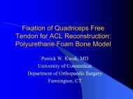 Fixation of Quadriceps Free Tendon for ACL Reconstruction ...