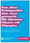 Wir dämmen Häuser mit Altpapier. - Kreissparkasse Reutlingen - Seite 6