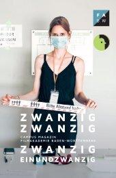 Filmakademie Baden-Württemberg Campus Magazin 20/21