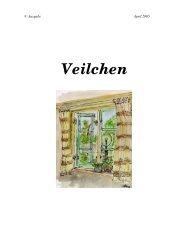 Veilchen - Geschichten-Manufaktur
