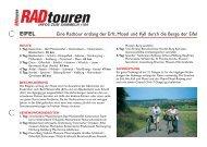 eifel - Radtouren Magazin