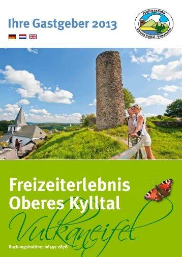 Freizeiterlebnis Oberes Kylltal - Stadtkyll