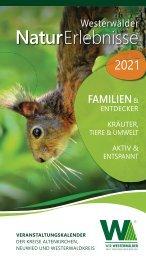 Westerwälder NaturErlebnisse 2021 - Veranstaltungskalender