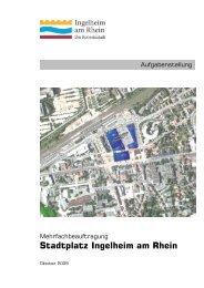 Stadtplatz Ingelheim am Rhein -