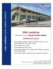 March 2021 - Missoula County Commercial