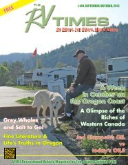 PDF of the RVTimes September / October Digital edition