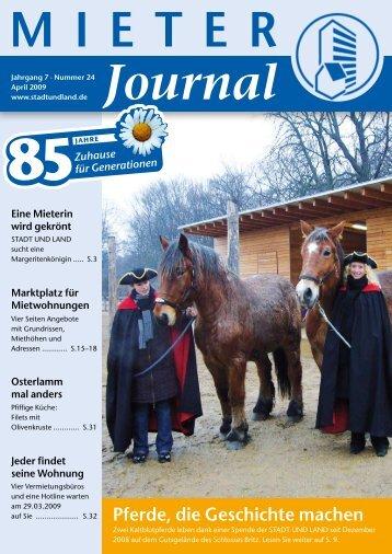 MIETER Journal - Stadt und Land