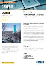 FEM für Stadt, Land, Fluss - VDC - Fellbach