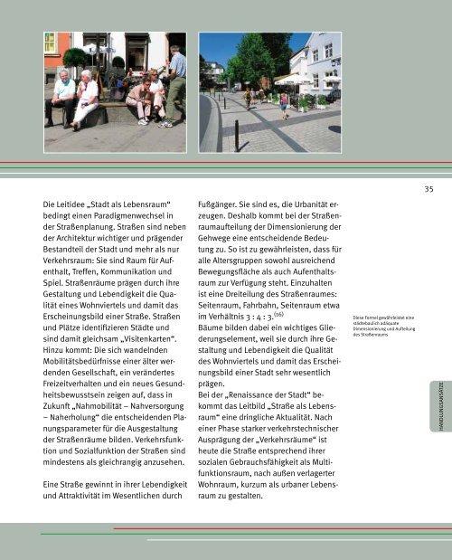 Nahmobilität im Lebensraum Stadt - Arbeitsgemeinschaft ...