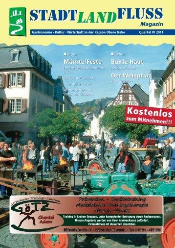 Stadt, Land, Fluss – Das Magazin