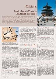 Stadt - Land - Fluss ... Im Reich der Mitte - Droste-Reisen
