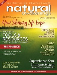 Natural Awakenings Twin Cities November 2018